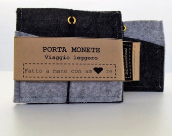 "Portacarte ""Viaggio leggero"", card holder ""light travel"""