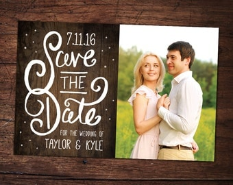 4x6 Save The Date Card