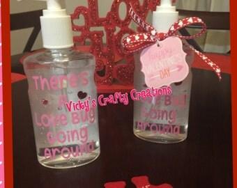 Valentine Hand Sanitizer gift