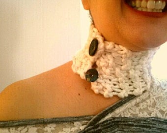 Handknit Cotton Chokers