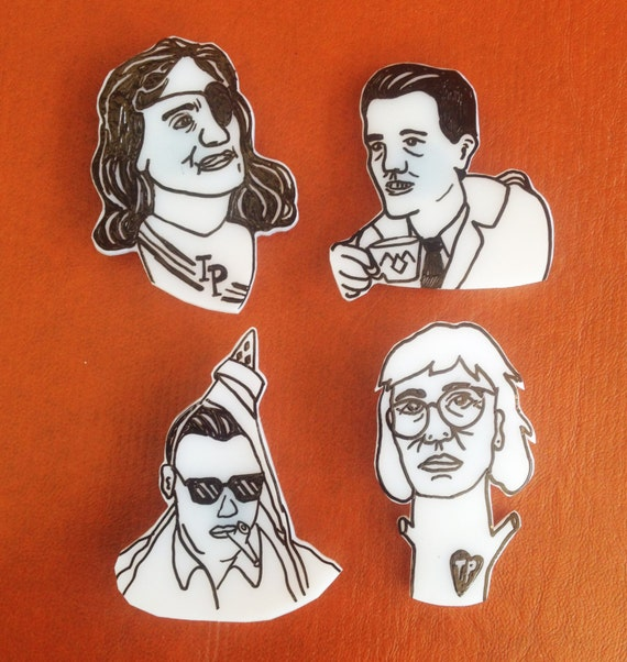 Twin Peaks - Magnets & Pins