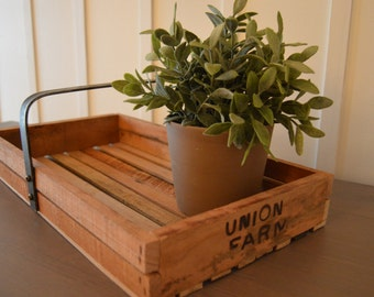 Rustic Reclaimed Serving Tray Hostess gift or Wedding gift
