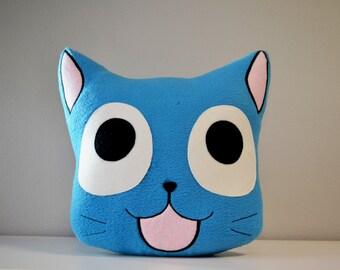 Happy Naruto manga anime pillow kawaii cat