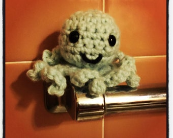 Tiny Crocheted Octopus - You Pick the Color