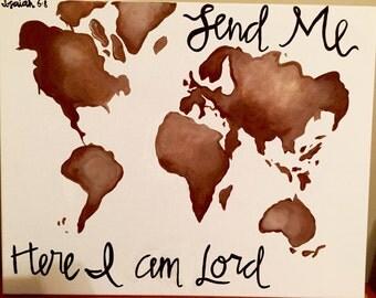 Isaiah 6:8 Canvas