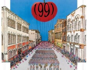 1991 National Cherry Festival Print