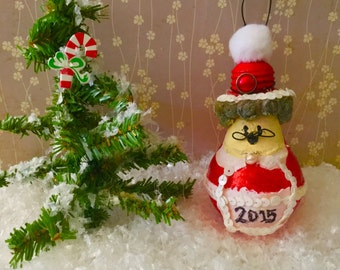 Personalized Mrs. Claus Ornament