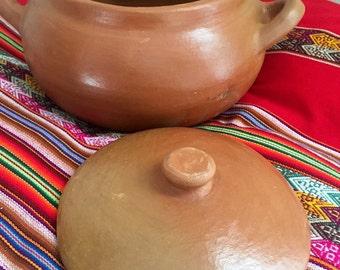 Peruvian Clay Pot. One piece.