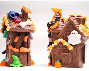 Chocolate Halloween Haunted House Kit - Assemble and Decorate your own!!!