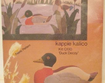 Kappie Kalico Duck Decoy Kit: Q130 New Old Stock