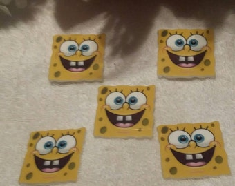 Set of 5 large spongebob resins would be great for birthday cakes.