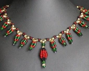 Devi Bead Necklace #007