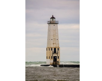Lighthouse Digital Photo - Lighthouse Photo - Nautical Digital Photo - Seaside - Vertical - Digital Photo - Digital Download - Home Decor