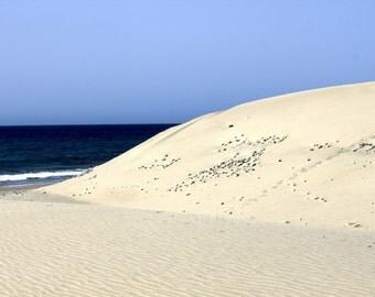 Dunes - Sea - Sandy Beach - Dunes Photo - Sandy Beach Photo - Seascape - Digital Photo - Digital Download - Instant Download - Home Decor