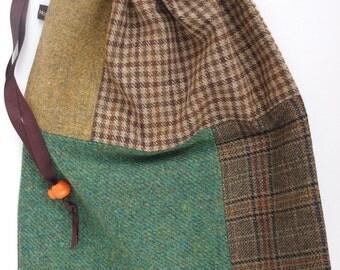 Tweed Shoe Bag