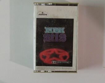 Rush 2112 Cassette 1976