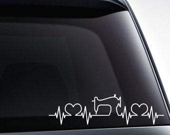 Sewing Machine Decal Etsy - Car decal maker machine