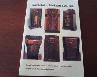 Console Radios of the Empire 1929 to 1940