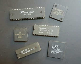 6 Micro Chip Magnets