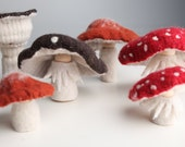 Custom Mushroom Person Doll