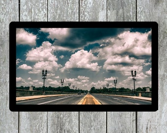 Pennsylvania Road, Sky Image, Sky Photo, Architecture Photo, Urban City Photo, Landscape Photo, Highway Photo, Skyline Photo, Wall Art