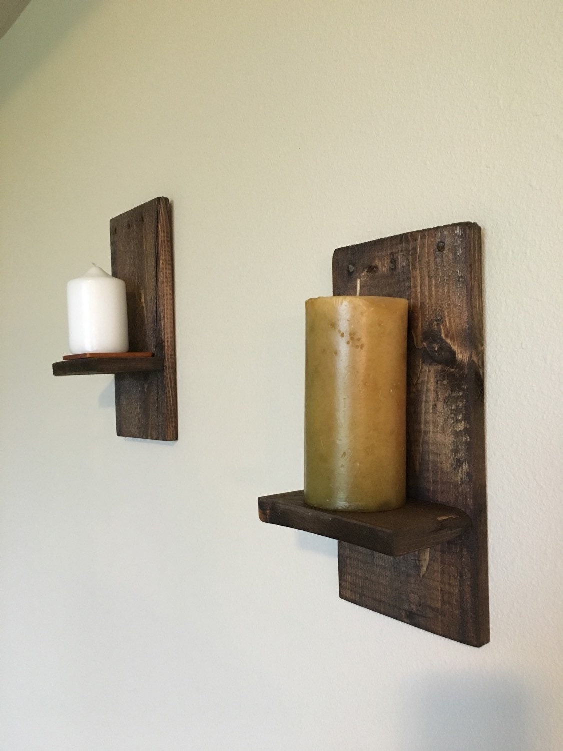 Rustic wall sconces-Reclaimed wall sconces-Country home wall