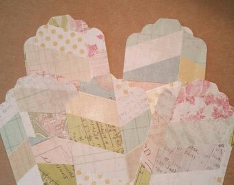 Patterned chevron tags