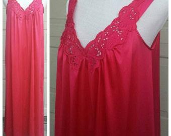 Vintage Vanity Fair Night Gown - 70s