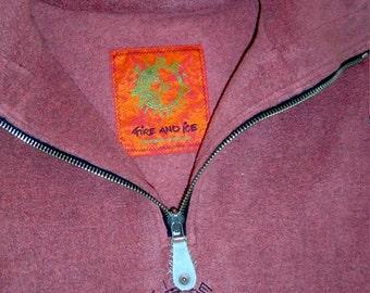 SALE! Fire & Ice fleece, raspberry, as NEW! Gr.XL