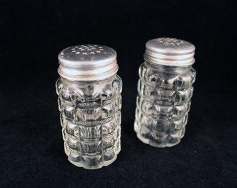 Vintage Diner Style Salt & Pepper Shakers