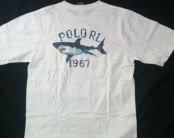 Vintage Polo RL 1967 Pocket T-Shirt Polo Sport Polo 1992