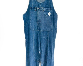 Original 80s XL Jeans Overall Golo Spain