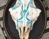 Pinstriped Sheep Skull Mo...