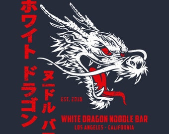 White Dragon Noodle Bar T-shirt (male)