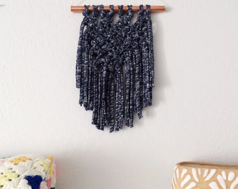Jersy Macrame/Copper Wall Hanging