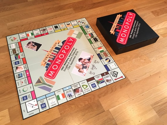 Personalised Monopoly UK