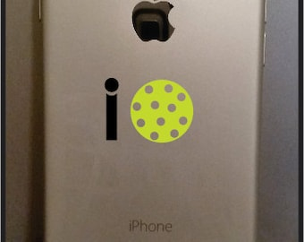 i pickleball decal for your cell phone