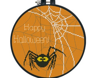 BUY 2 GET 1 FREE. Modern cross stitch pattern halloween cross stitch patterns funny cross stitch simple cross stitch embroidered picture