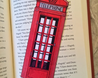London Phone Box Bookmark