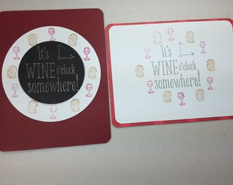 Just Because, Happy Hour, Handmade Cards