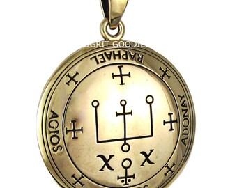 Talisman of Archangel Raphael Jewelry Bronze
