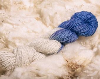 Hand Spun Yarn | Hand Dyed Yarn | 100% British Wool | Handspun Yarn