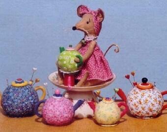 HH261E - Teapot Pin Keeps PDF Doll Making Sewing Pattern