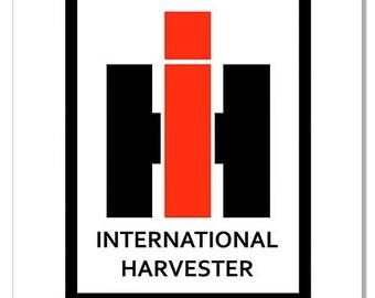 "International Harvester Farm Sign 12""x 18"""