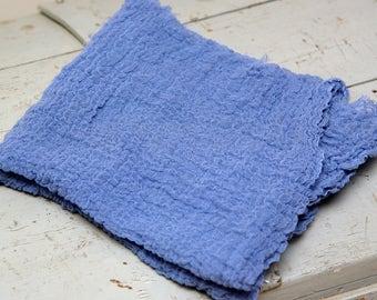 Blue-Belle Cheesecloth Newborn Wrap