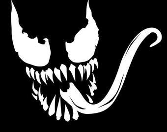 Marvel Supervillain Venom Vinyl Decal
