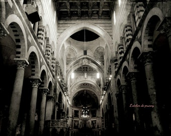 Cathedral photography black and white