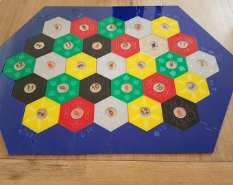 Acrylic settlers of catan board. In stock.