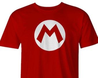 Super Mario Brothers logo T-shirts, Mario Logo, Mario, Mario Brothers, Mario Bro logo Tees