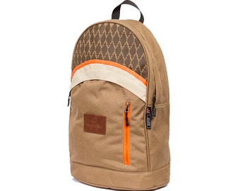 Brown DaySack / BackPack / Bike Bag / Hipster Bags - for Men / Women - Maato Collection